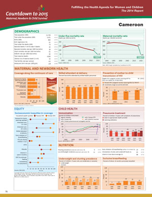 Cameroon Country Profile 2014-1