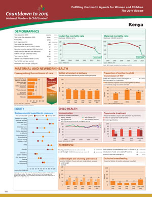 Kenya Country Profile 2014-1